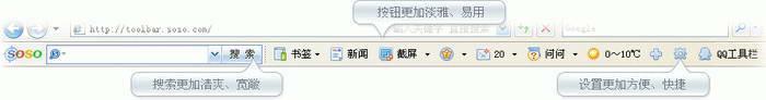 QQ工具栏