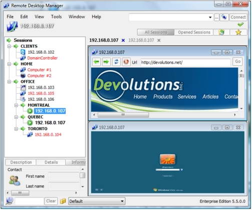 Remote Desktop Manager Enterprise Edition