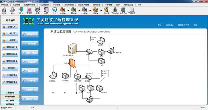 子美建筑工地管理系统个人版(免费)