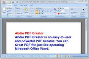 Abdio PDF Creat...