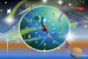 Rocket Clock ScreenSaver for MAC