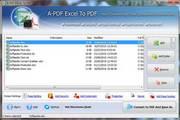 A-PDF Excel to PDF 5.8