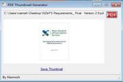 PDF Thumbnail Generator 1.12