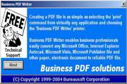 Business PDF Writer 3.12