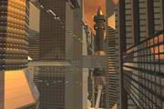 Future City 3D Screensaver