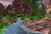 Spring Valley 3D Screensaver 1.01.4