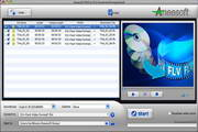 Aneesoft DVD to FLV Converter for Mac 4.1.1