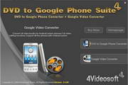 4Videosoft DVD to Google Phone Suite 5.0.16