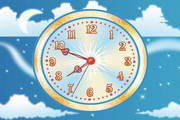 Sky Flight Clock ScreenSaver