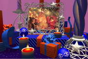Chistmas 3D Candles