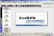 FoxWPS人事工资管理系统
