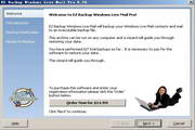 EZ Backup Windows Live Mail Pro 6.42