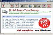 321Soft Screen Video Recorder 1.05.4