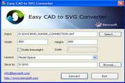 Easy CAD to SVG Converter 3.91 Build 225