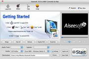 Aiseesoft DVD to WMV Converter for Mac 6.2.56