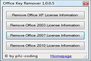 Office Key Remover 1.0.0.7