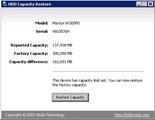 HDD Capacity Restore Tool 1.2