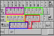 中文简码三键盲打版
