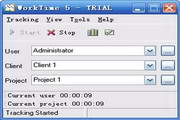 WorkTime Time Tracking Software 5.21