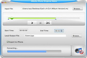 4Media iPhone Ringtone Maker for Mac 2.1.2.0307