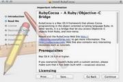 RubyCocoa For Mac 1.0.7