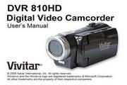 Vivitar威达DVR 810HD数码摄像机说明书