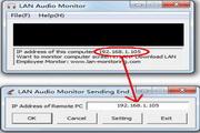 LAN Audio Monitor 1.0