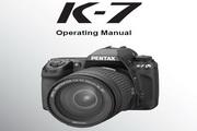 宾得数码相机K-7型使用说明书