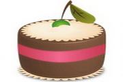 巧克力蛋糕图标下载