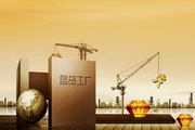 金融银行信贷海报