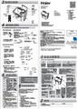 海尔XPB125-0623S专供洗衣机使用说明书