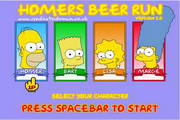 辛普森接啤酒...
