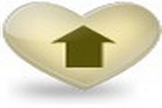 心形网站logo图...