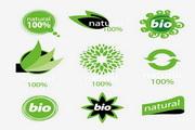 绿色环保图标矢...
