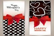 情人节卡片设计矢量模板素材
