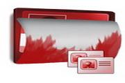 红色文件夹图标下载4