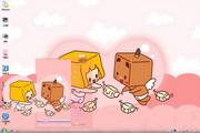 张小盒和莉莉盒win7主题