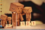 张小盒的101次求婚win7主题 1.0