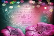 浪漫花卉的卡片设计素材