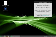 Manjaro Linux Cinnamon Community Edition 0.8.10 RC2