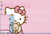 粉红HelloKitty win7主题 1.0
