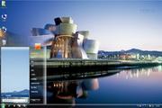 河边建筑Win7主题 1.0
