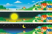 矢量风景背景素材17