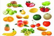 各式水果psd分层素材