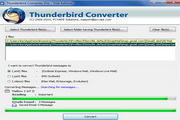 Conversion from Thunderbird to Outlook 5.05