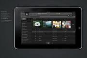 ipad音乐app界面设计素材