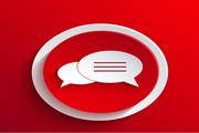 对话框矢量设计元素