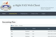4-Sight Fax Client 8.0.16