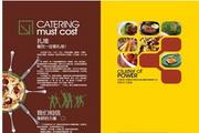 餐饮美食画册矢量图