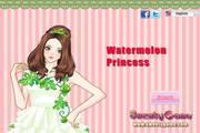 可爱西瓜公主...